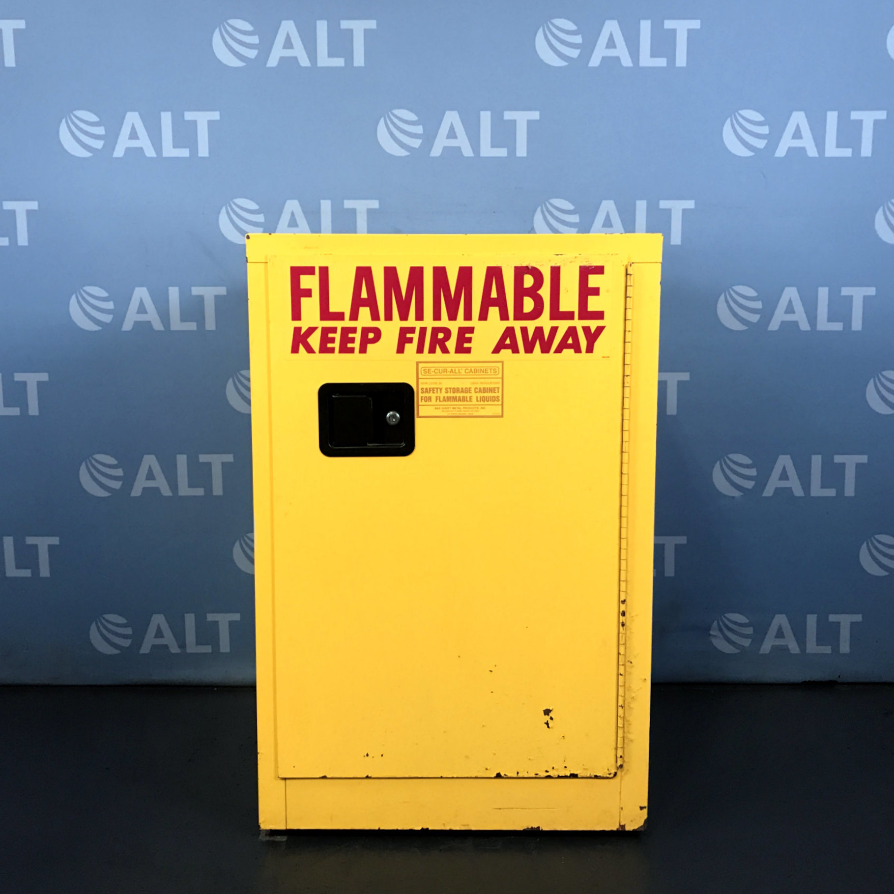 12 Gal Flammable Storage Cabinet Name