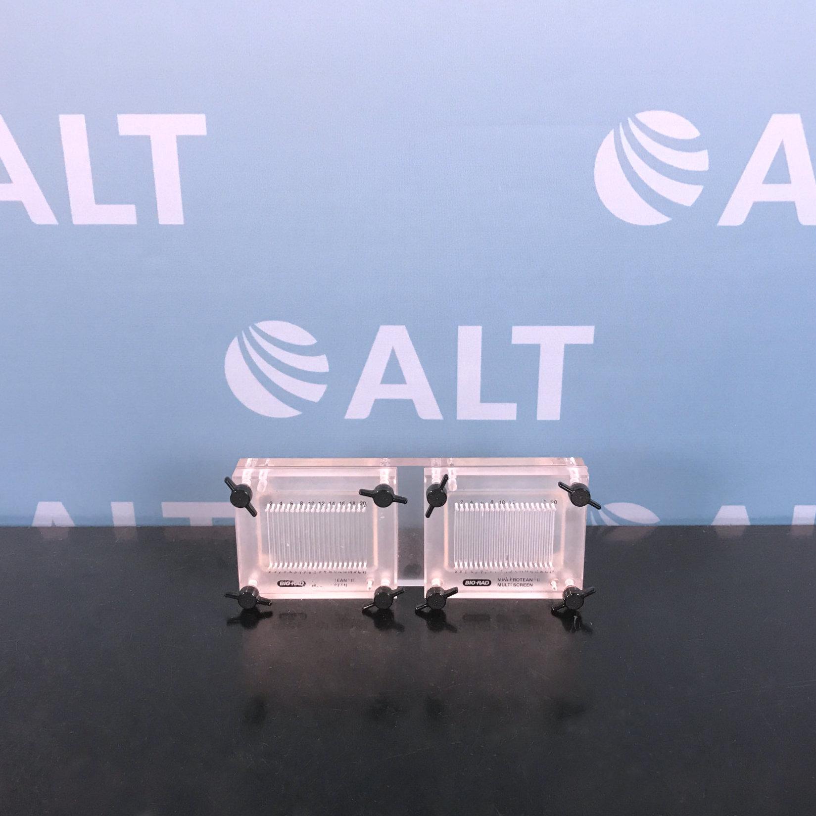 Bio-Rad Mini-Protean II Electrophoresis Gel Chamber Model 170-4017 Image