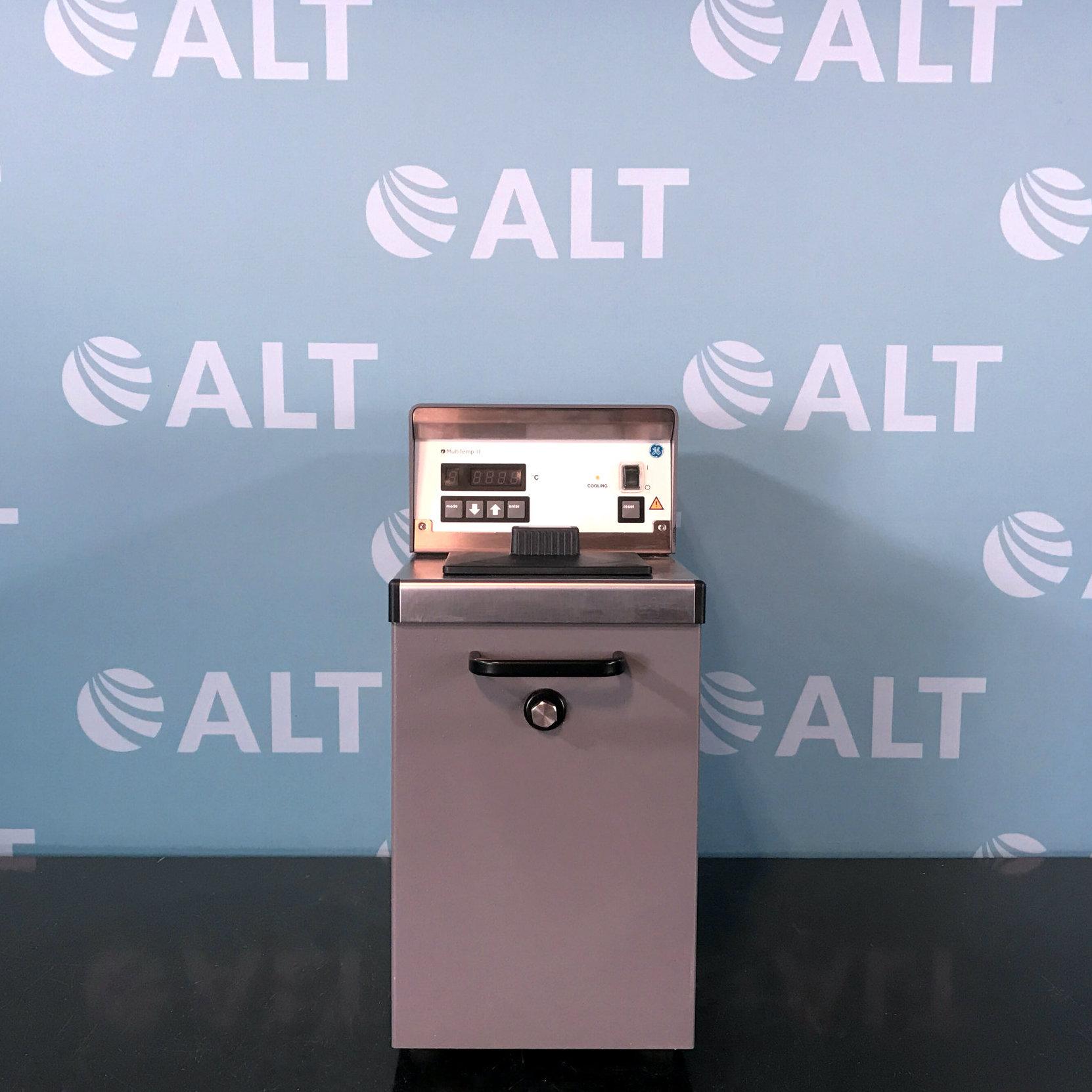 GE Healthcare Life Sciences MultiTemp III Refrigerating Circulator Chiller 18-1102-77 Image