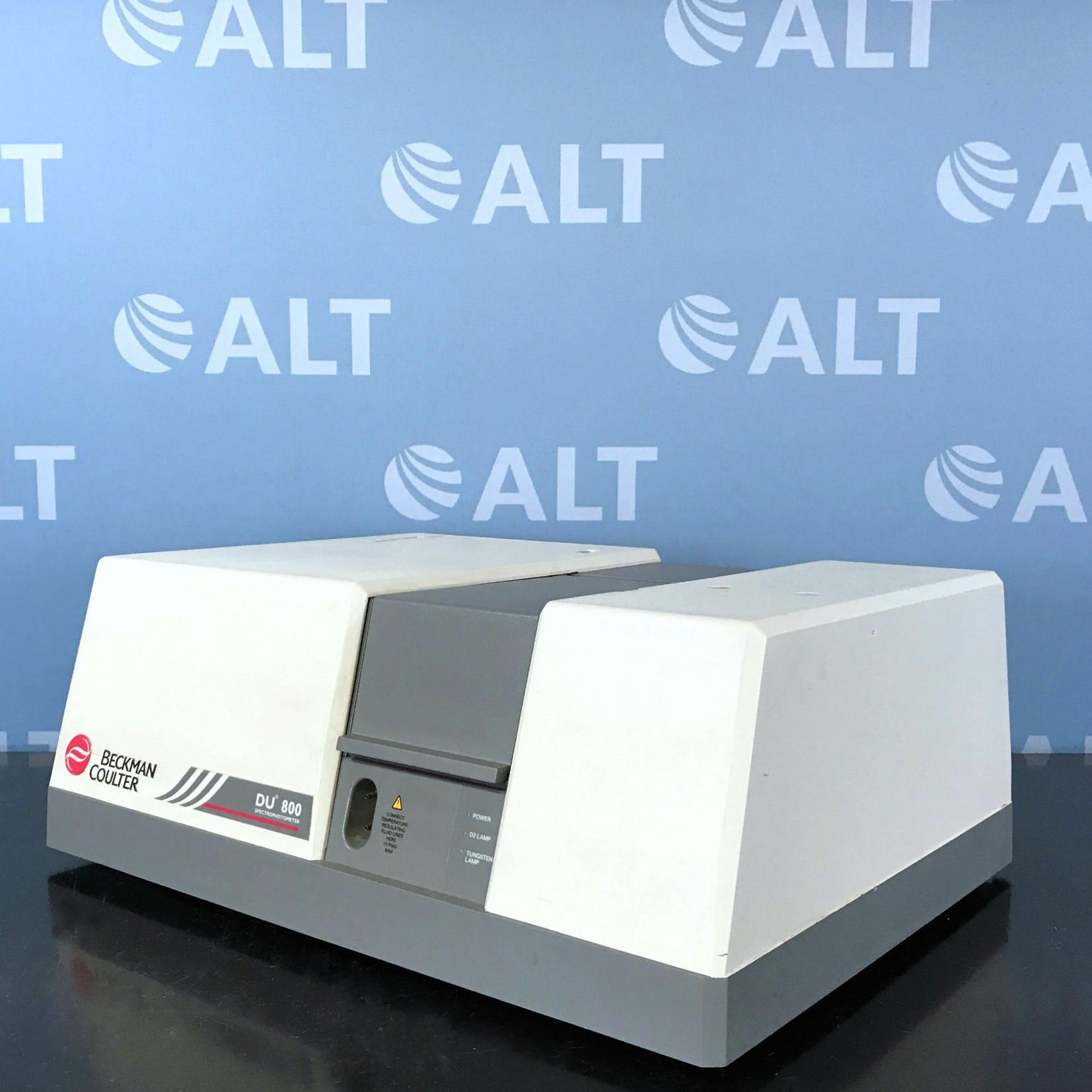 Beckman Coulter DU 800 UV/Visible Spectrophotometer Image