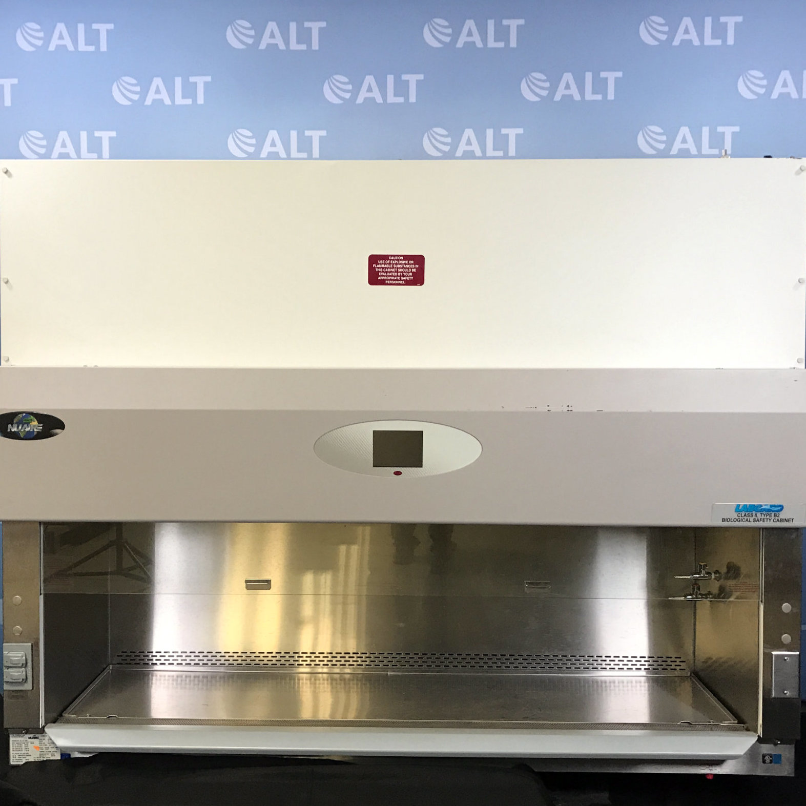 Nuaire NU-430-600 Class II Type B2 6' Biological Safety Cabinet Image