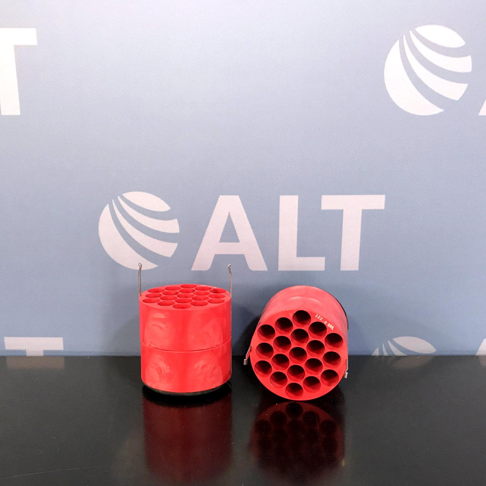 IEC Model 5719 (19) Tube Slot Bucket Adapter. 15ml (Set of 2) Image