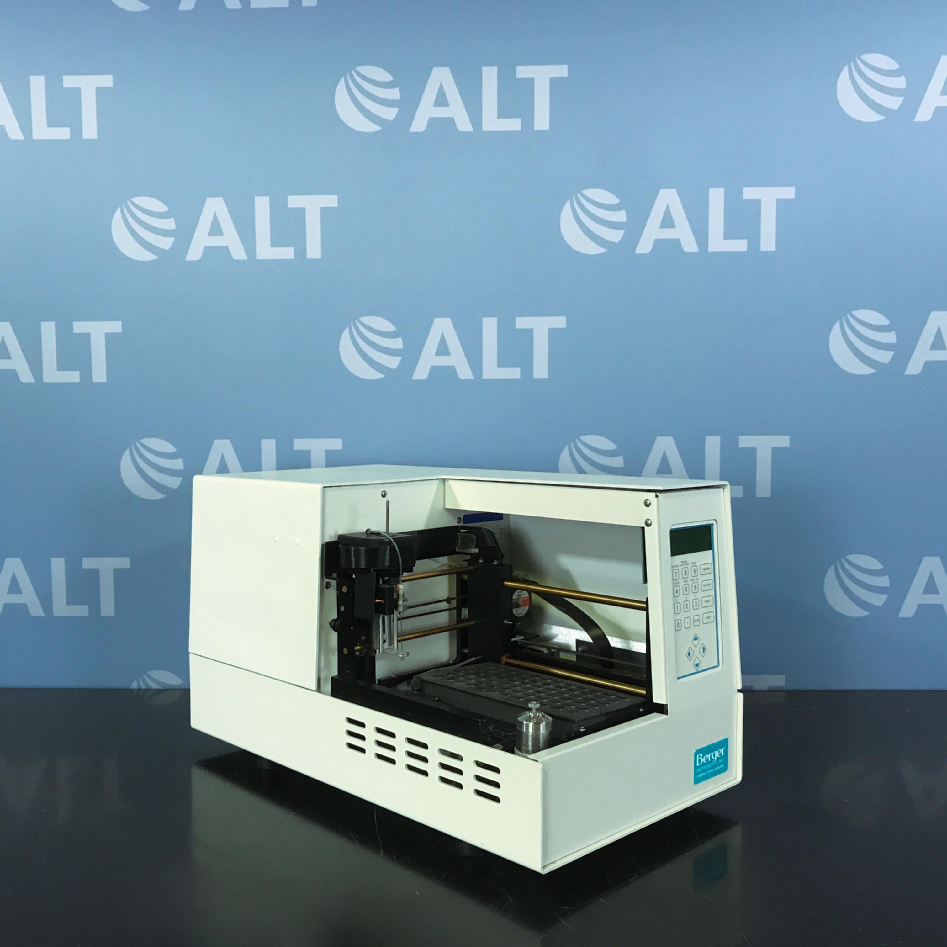 Berger SFC Analytix and MiniGram Automatic Liquid Sampler Model 719/0000032 Image