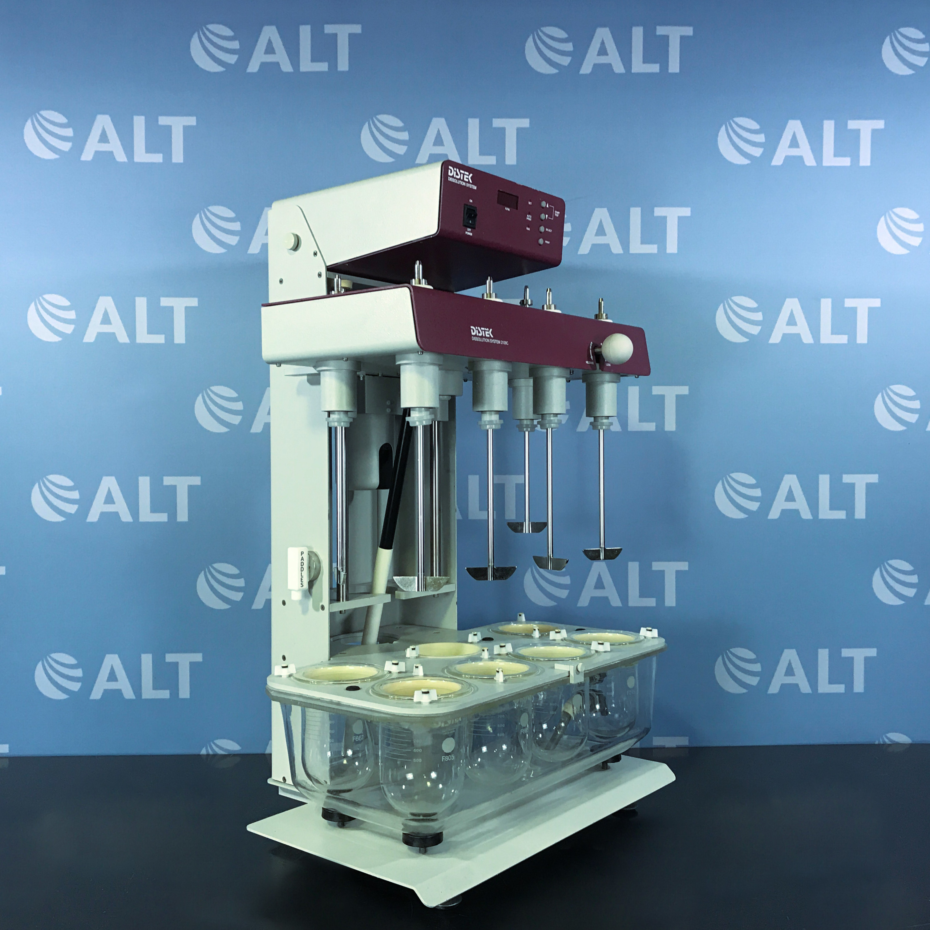 Distek 2100C Dissolution System with Agilent 8453 UV-Vis Spectroscopy System Image