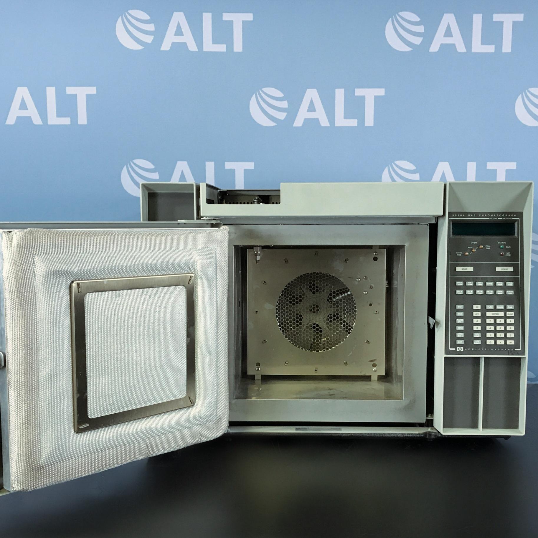 Hewlett Packard HP 5890A Gas Chromatograph System Image
