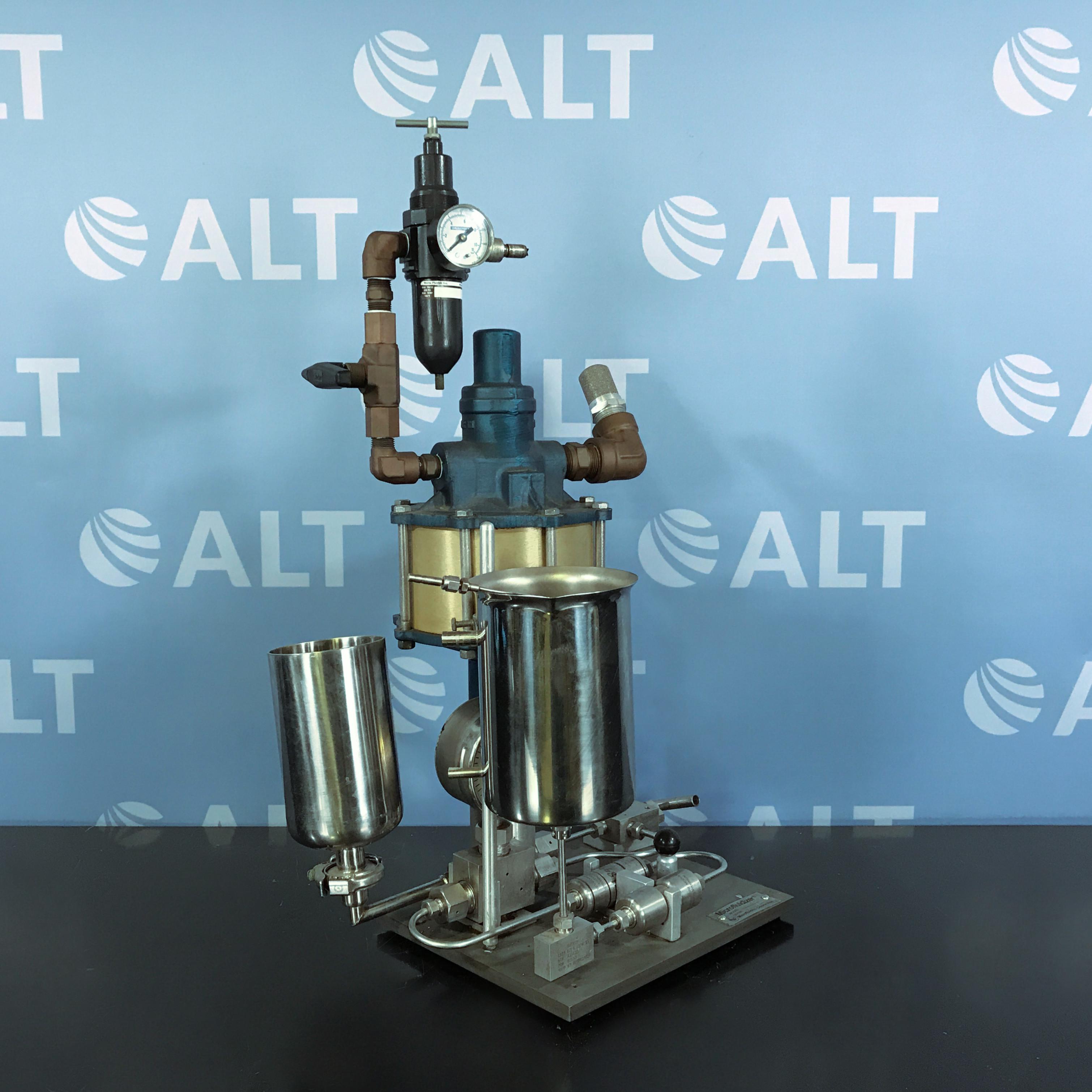 Microfluidics Microfluidizer Model M-110Y Homogenizer Image