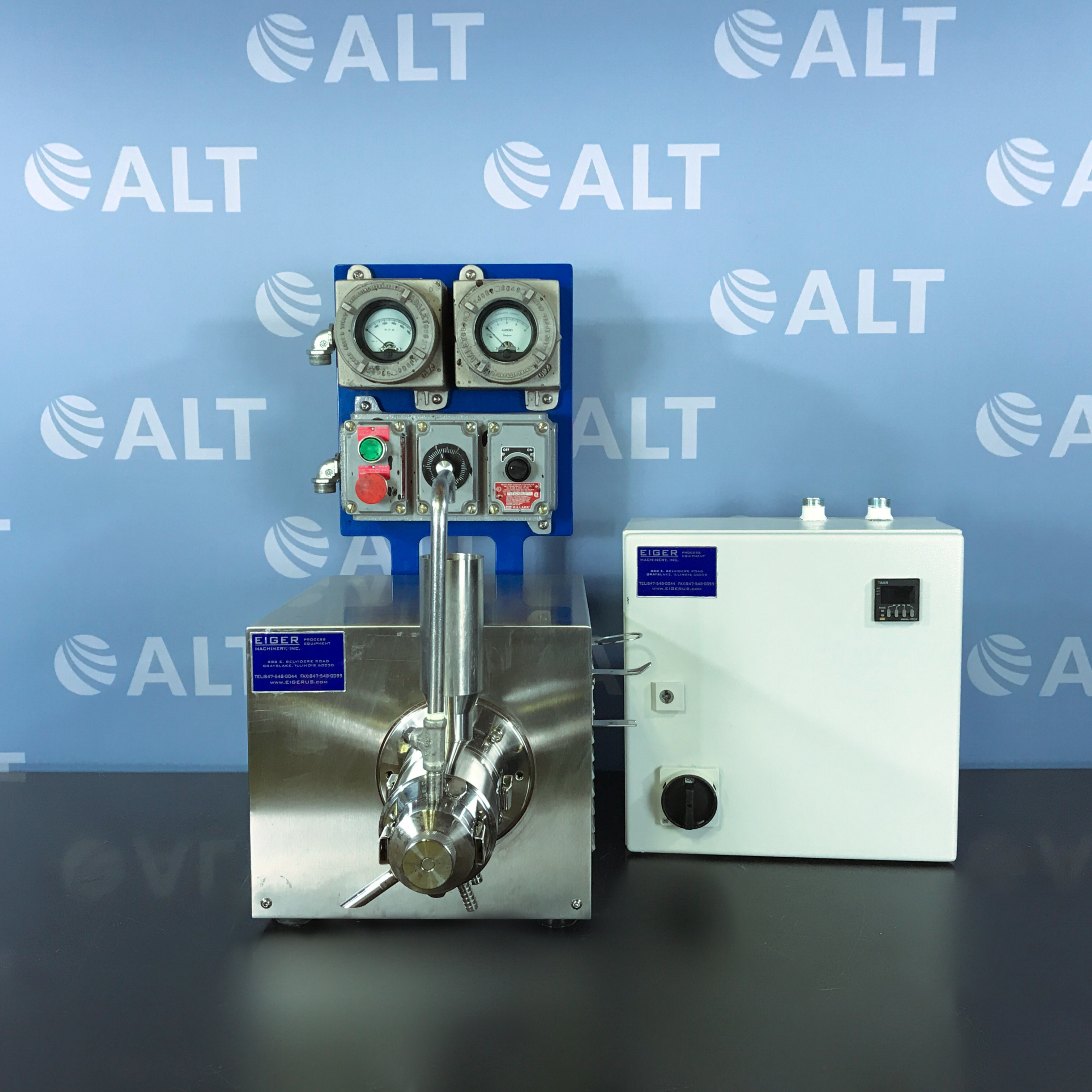 Laboratory Mini Mill Model M250 VSE EXP Name