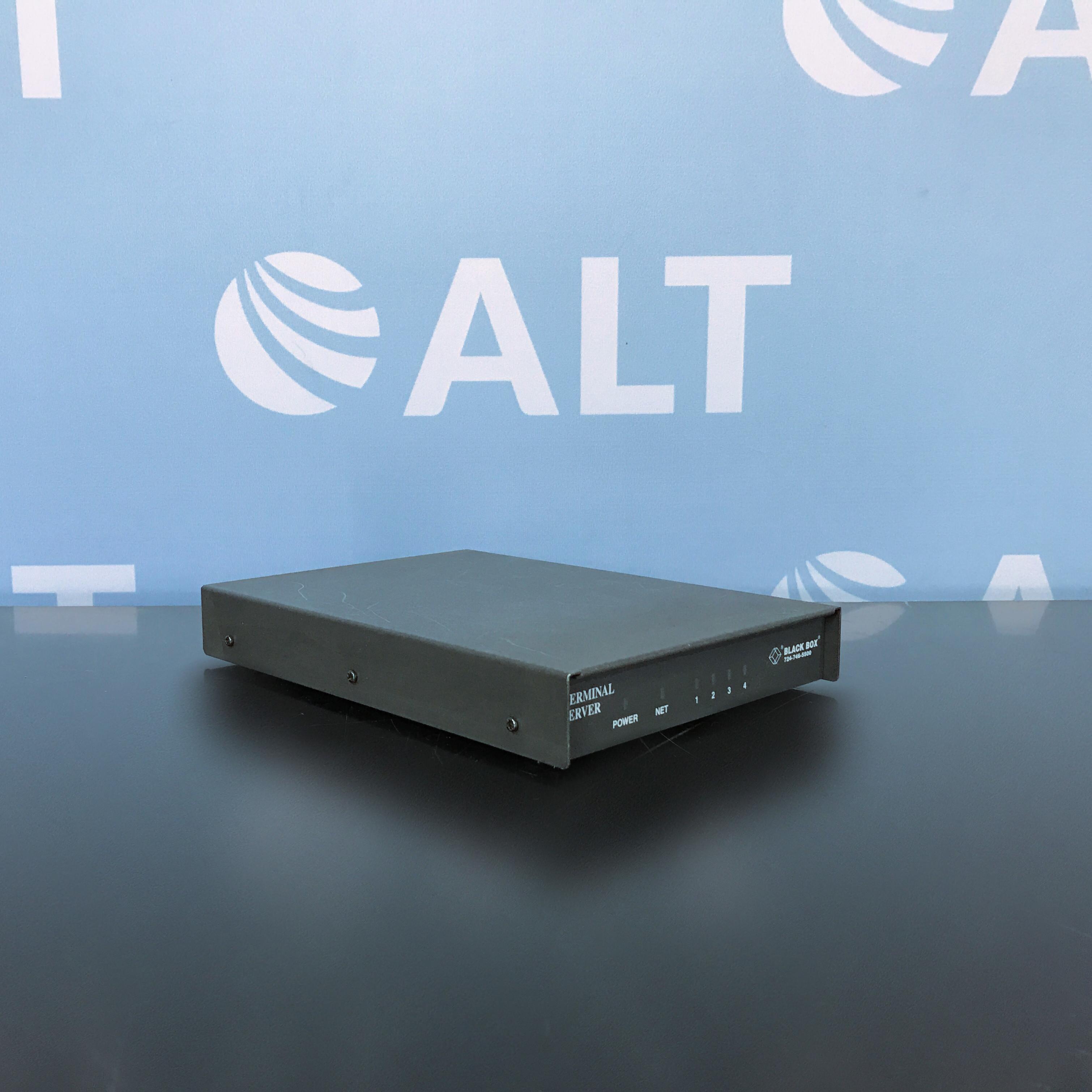 Black Box Enhanced TCP/IP Terminal Server, RJ-45 Async Image