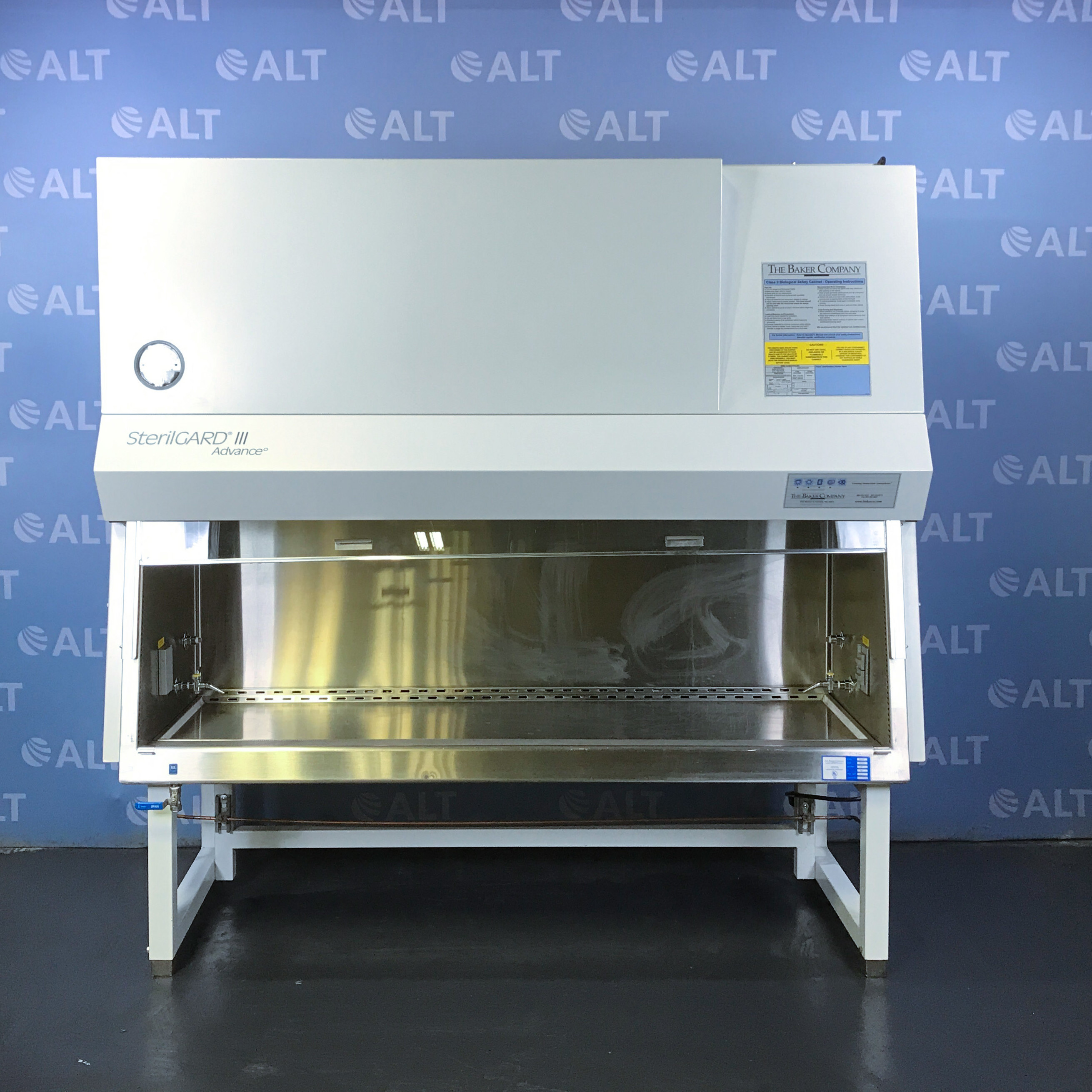 SterilGARD III Advance Class II Type A/B3 Biological Safety Cabinet Model SG603 Name