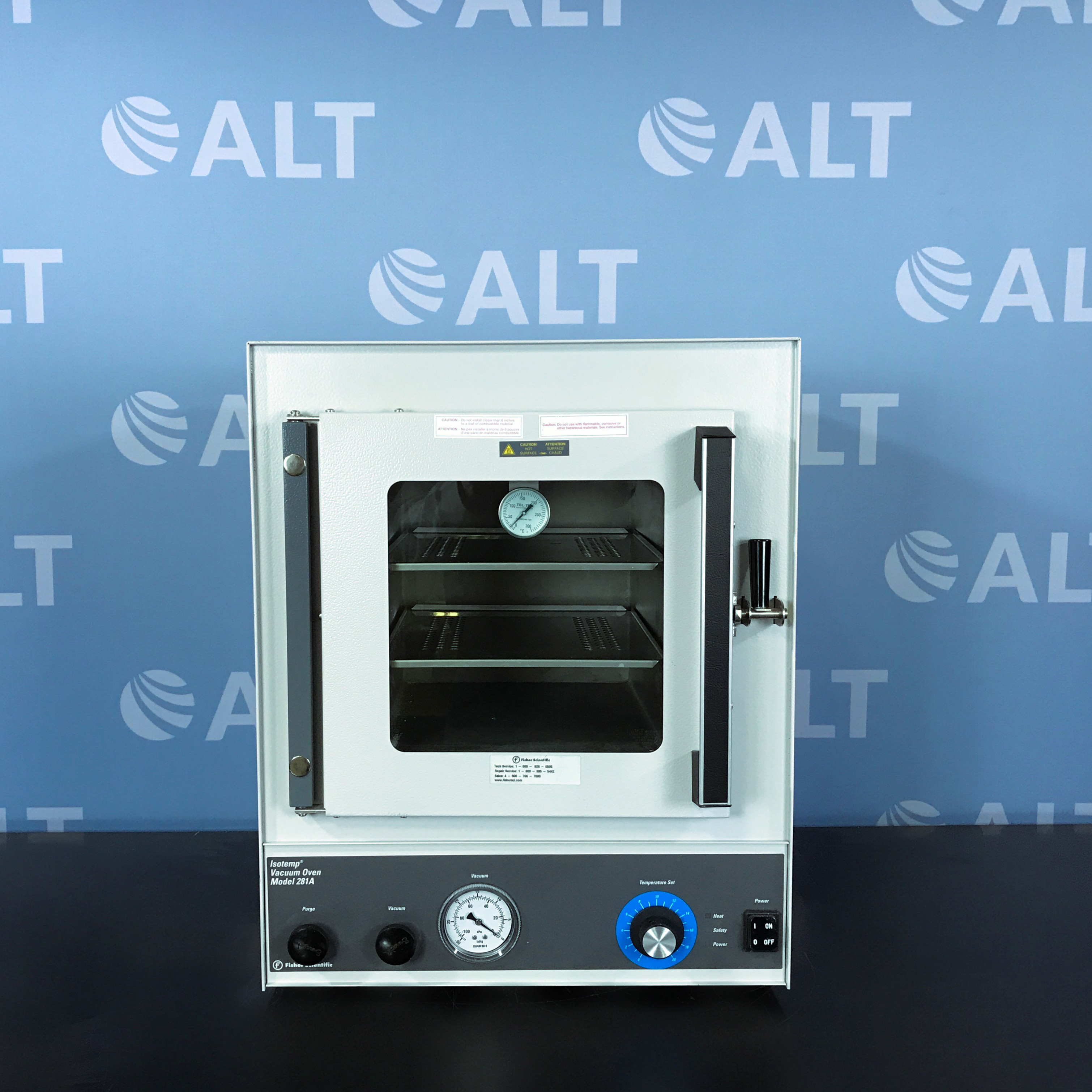 Fisher Scientific Isotemp Model 281A Vacuum Oven Image