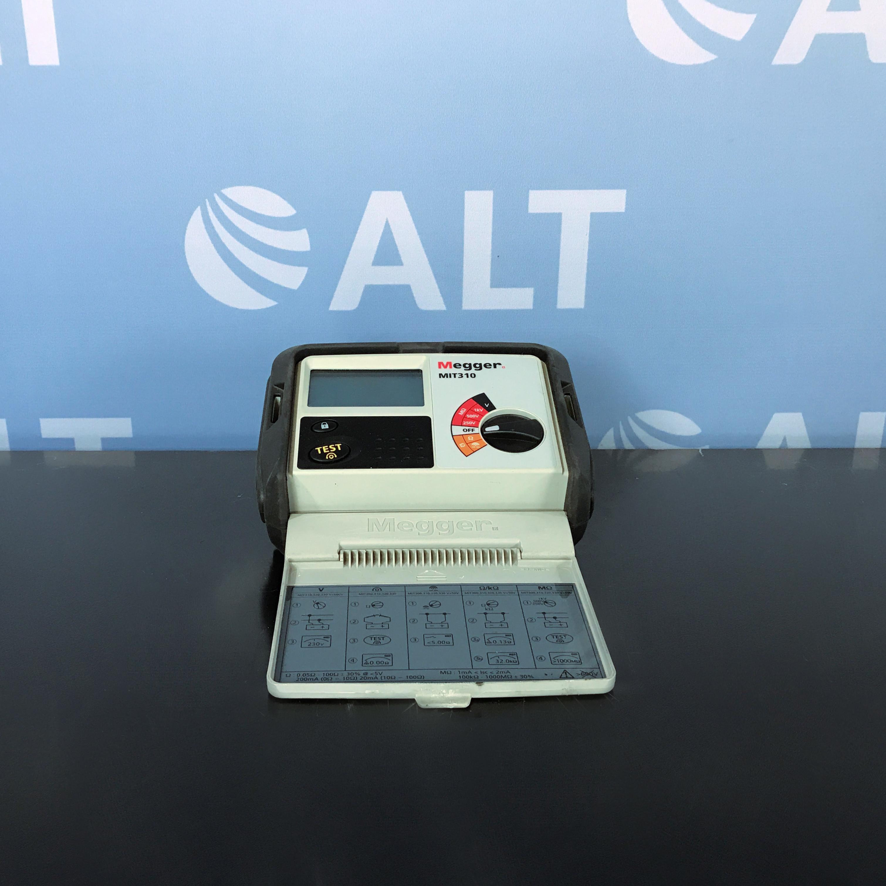 Megger MIT310 Insulation & Continuity Tester 250v 500V 1000V Image