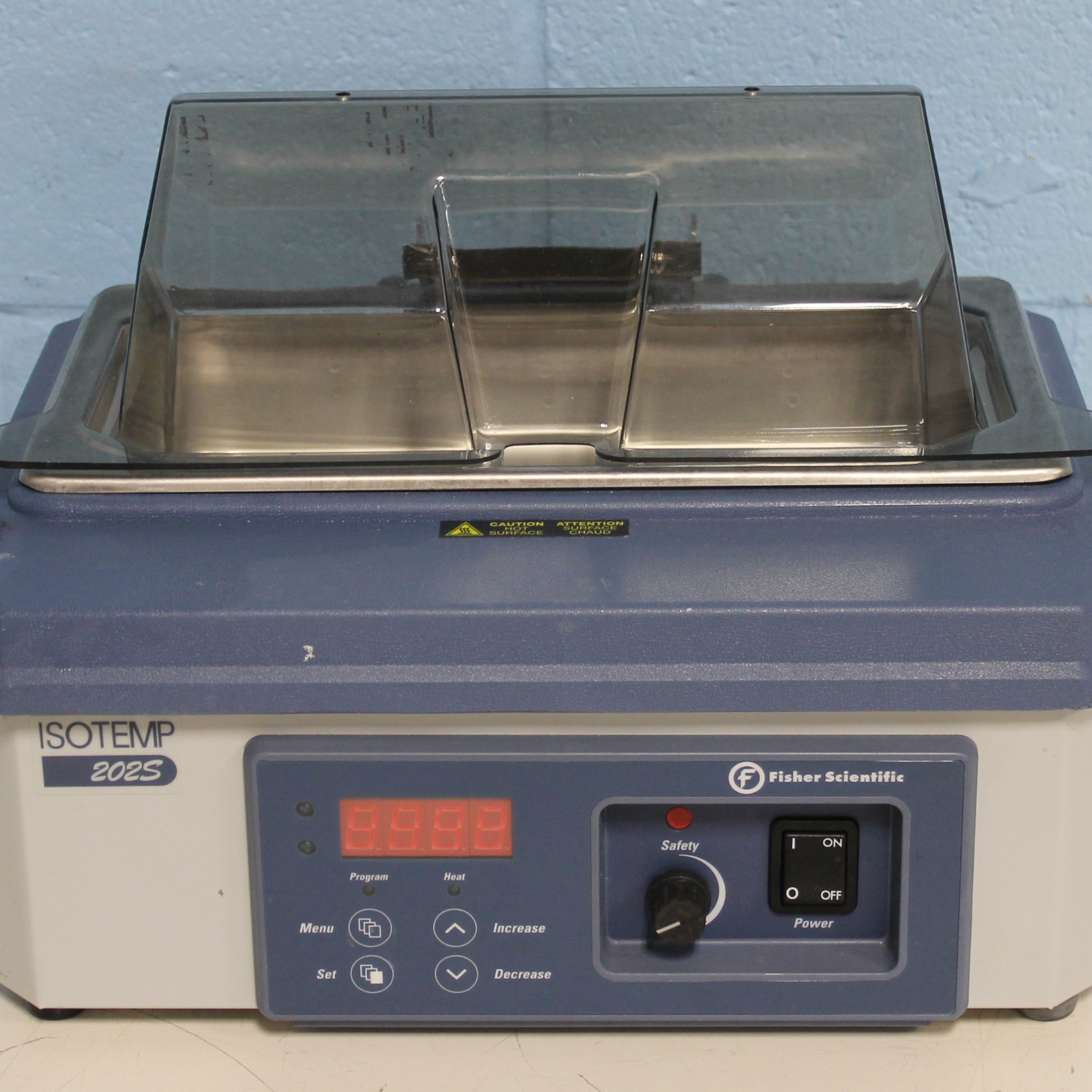 Fisher Scientific 202S Isotemp Digital Water Bath CAT No. 15-462-2S Image