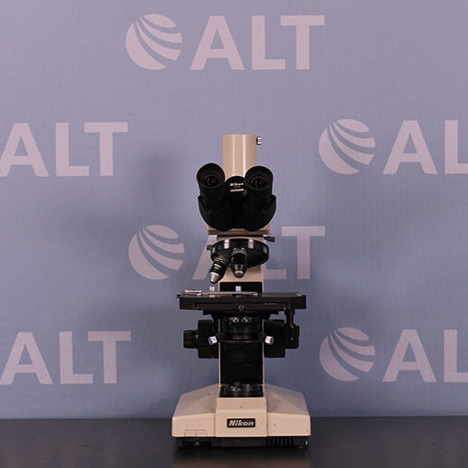 Nikon Optiphot Microscope Image