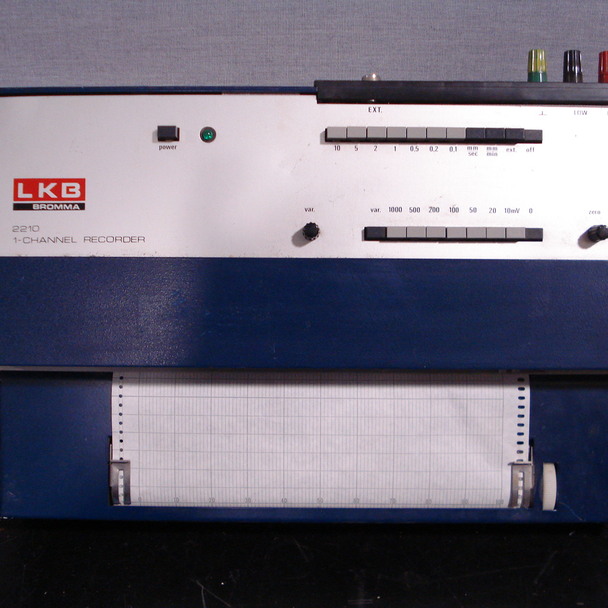 LKB Bromma 2210 1-Channel Recorder Image