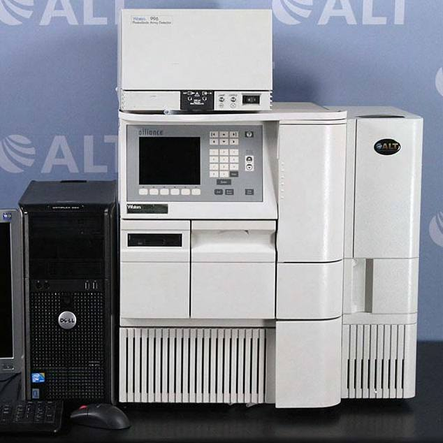 Waters Alliance 2695 HPLC with  996 Photodiode Array Detector Image