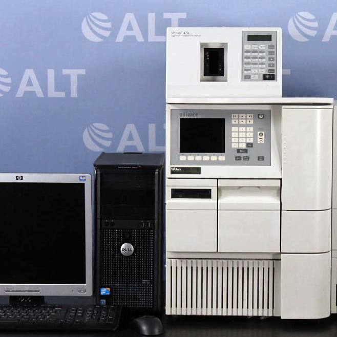 Waters Alliance 2695 HPLC with 474  Scanning Fluorescence Detector Image