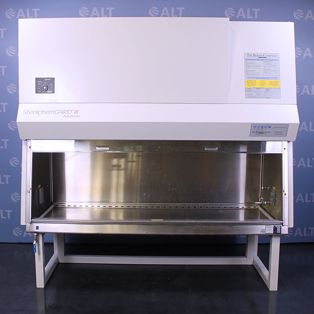6' SterilchemGARD III Advance Class II Type B2 Biological Safety Cabinet Model SG603A-TX with stand
