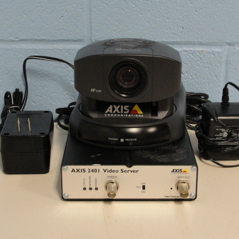 AXIS Pan/Tilt/Zoom Camera Kit Image