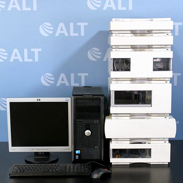 HP/Agilent 1100 Series HPLC System with G1315A DAD and G1312A Binary Pump Image