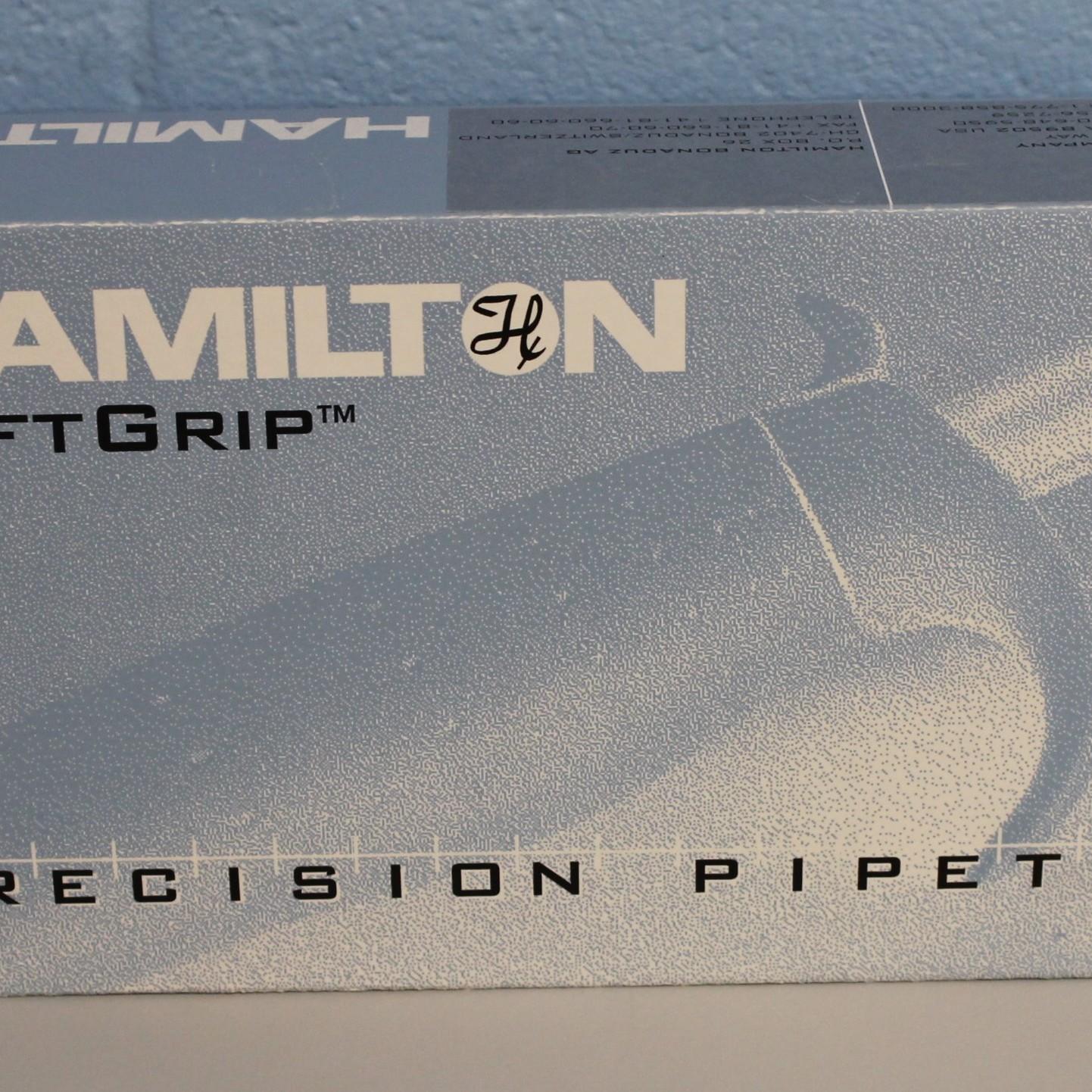 Hamilton 8-Channel Adjustable Volume SoftGrip Pipette Image