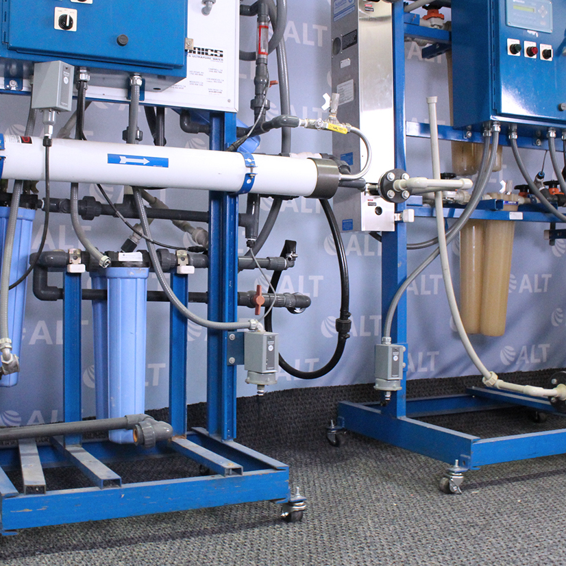 Ionics R.O High Purity In-house water system Image