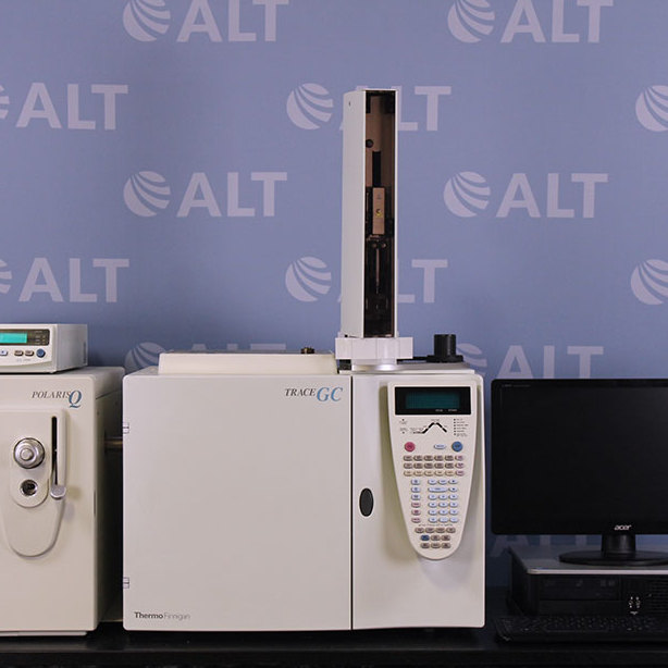 Thermo Finnigan PolarisQ Ion Trap Mass Spectrometer With Thermo Trace Gas Chromatograph Image