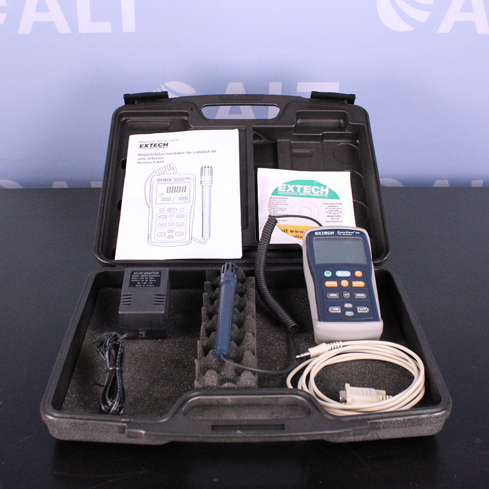 Extech Instruments EA80 EasyView Indoor Air Quality Meter/Datalogger Image