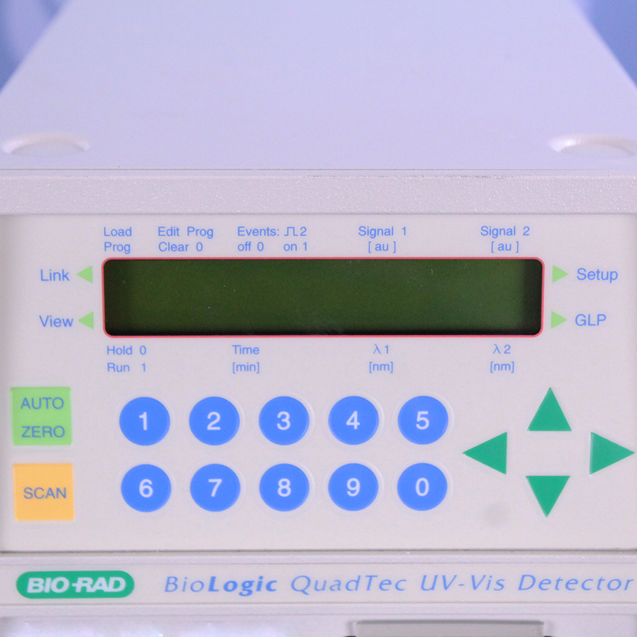 Refurbished Bio Rad Biologic Quadtec Uv Vis Detector