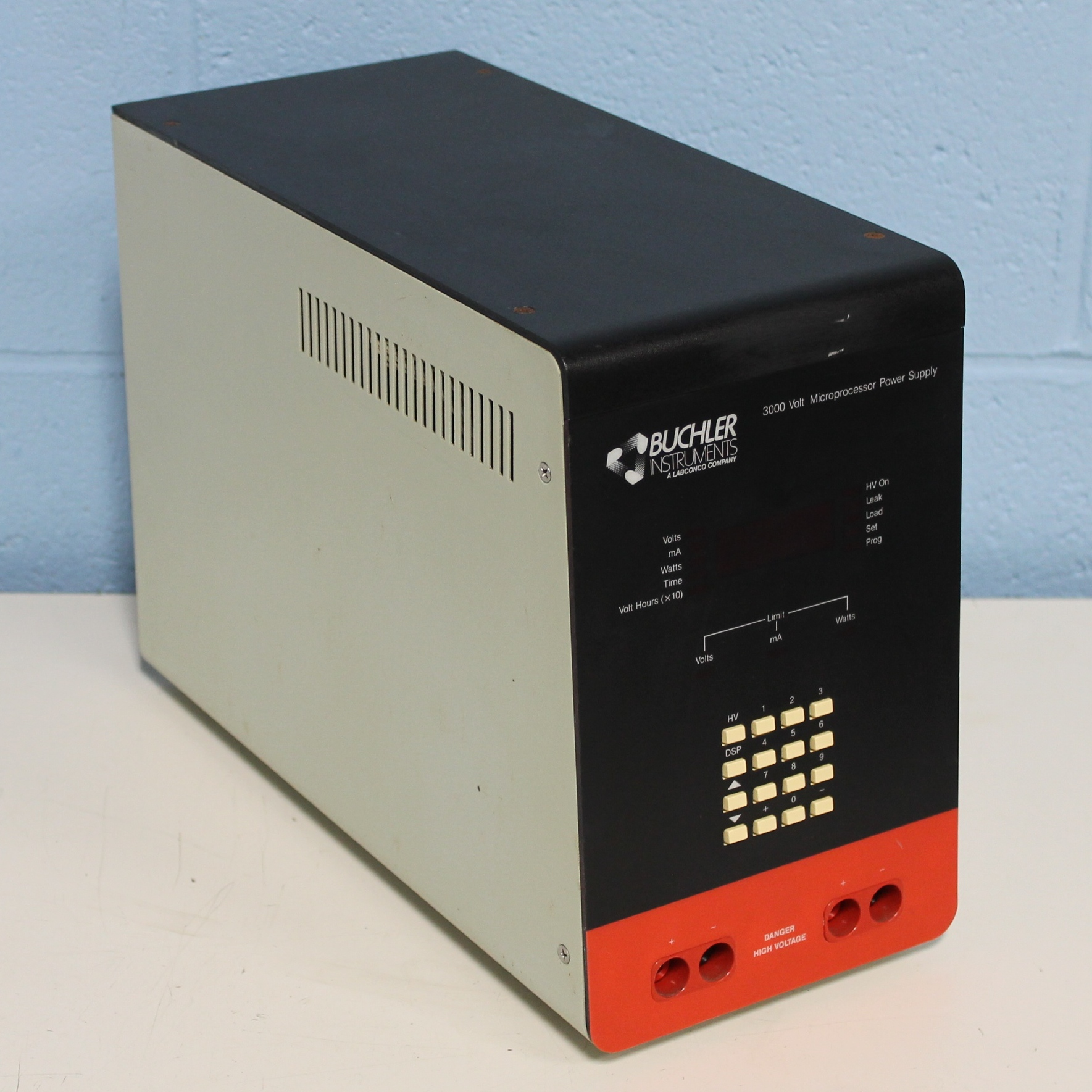 Buchler Instruments 3000 Volt Microprocessor Power Supply Image