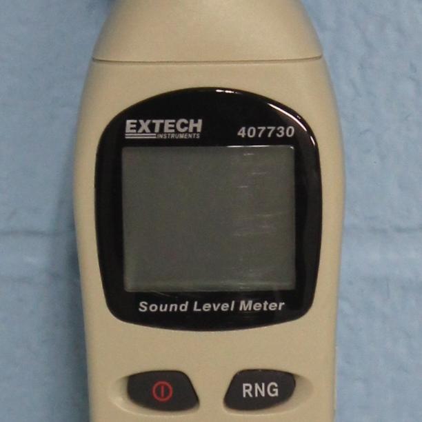 407730 Digital Sound Level Meter; 40 to 130 dB Name