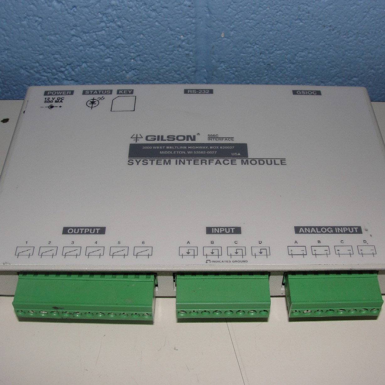 Gilson 506C System Interface Module Image