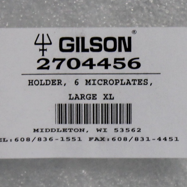 Gilson 6-Position Microplate Holder Image