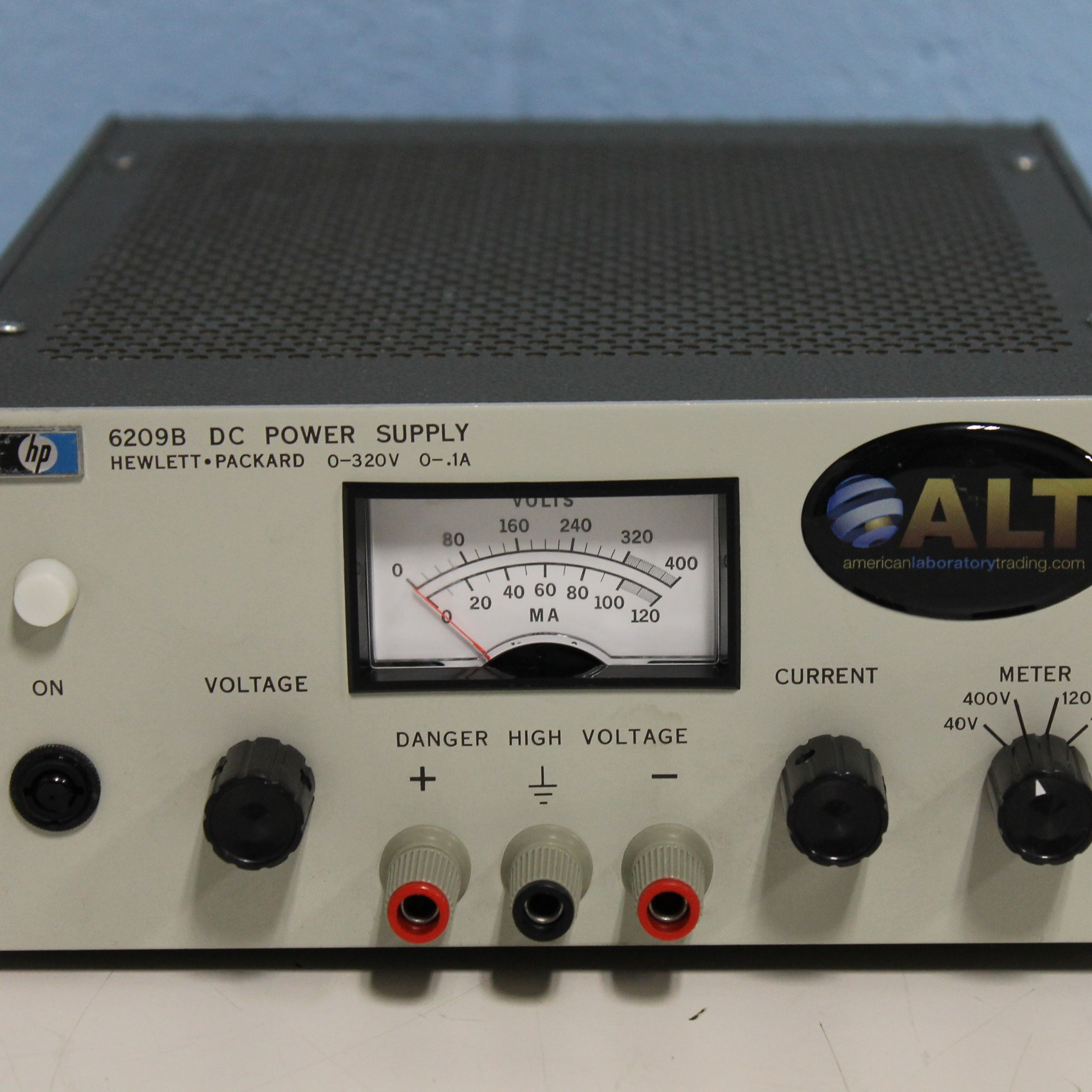 Hewlett Packard 6209B DC Power Supply 0-320V 0-.1A Image