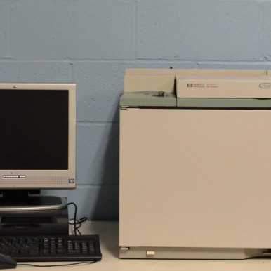 6890 (G1530A) Plus Gas Chromatograph with Dual Split/Splitless Inlet