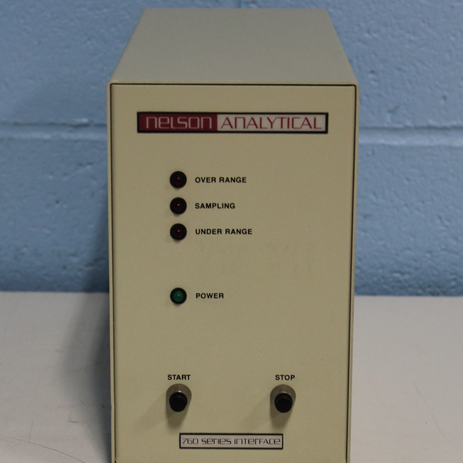 Nelson Analytical 760 Series Interface Image