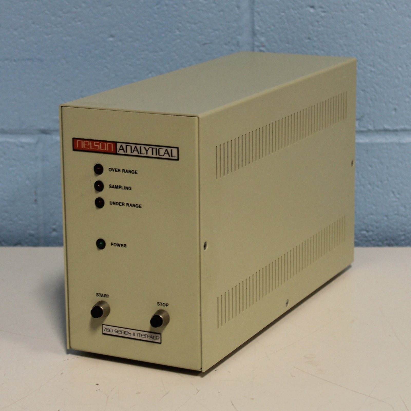 Nelson Analytical 761 Series Interface Image