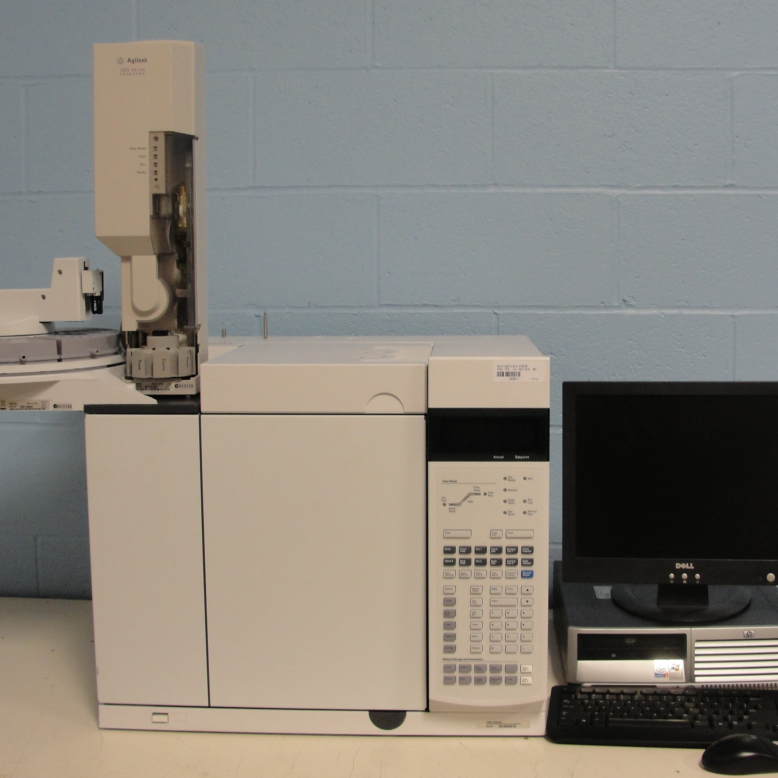 7890A (G3440A) Network Gas Chromatograph System Name