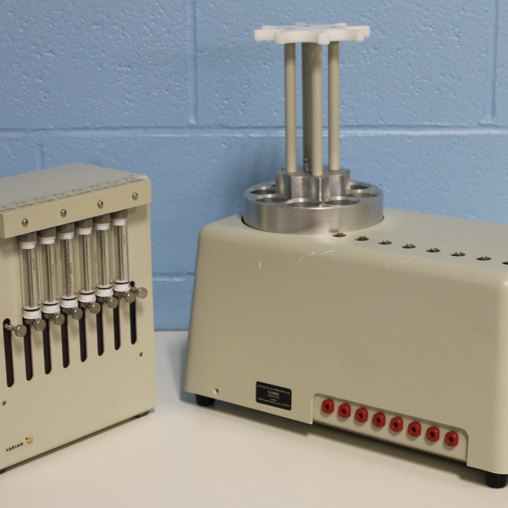 Varian 8 Channel Syringe Pump Filter Model 15-5000 Image