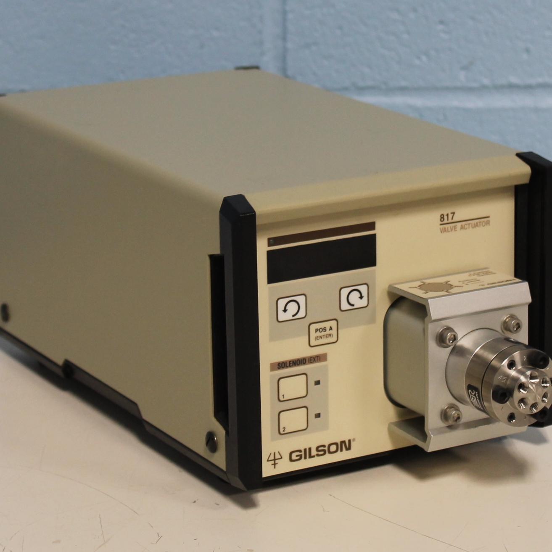 Gilson 817 Valve Actuator Image