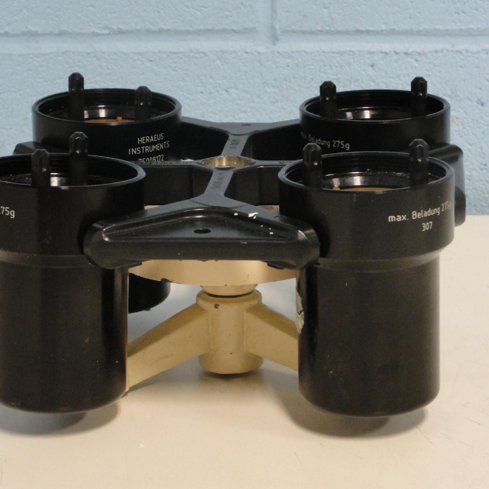 Heraeus 8179 Swing Bucket Rotor with Buckets Image