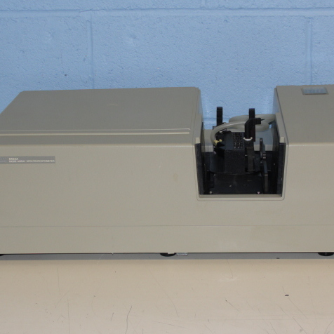 Hewlett Packard 8452A Diode-Array Spectrophotometer with Multicuvette Holder Image