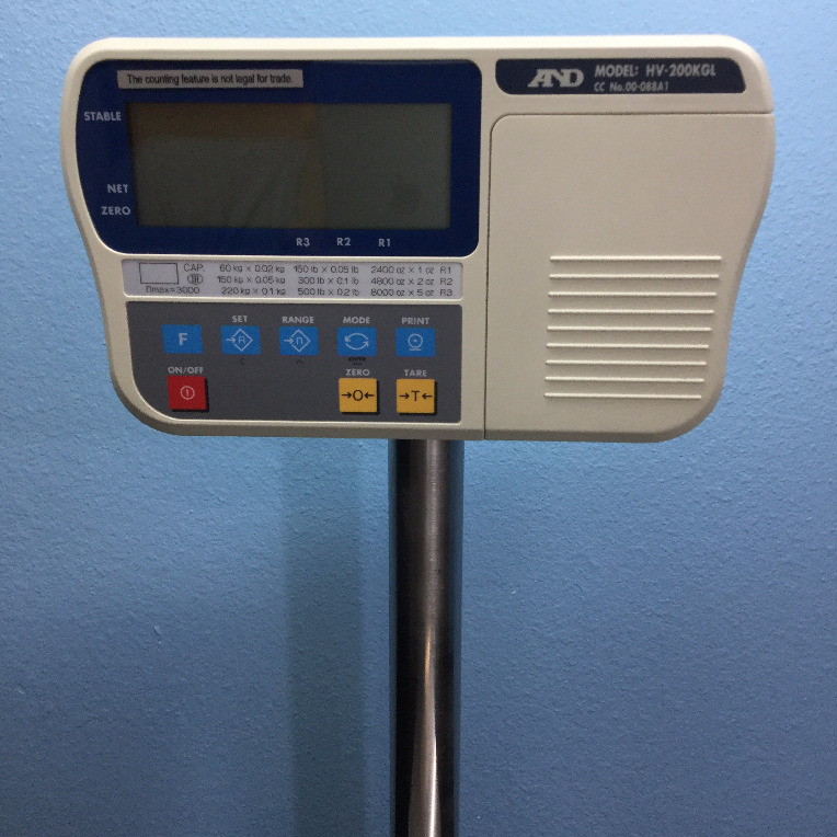 A&D Company HV-200KGL Scale Image