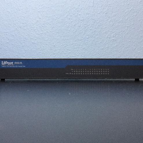 Moxa UPort Model #1610-16 Serial Hub Image