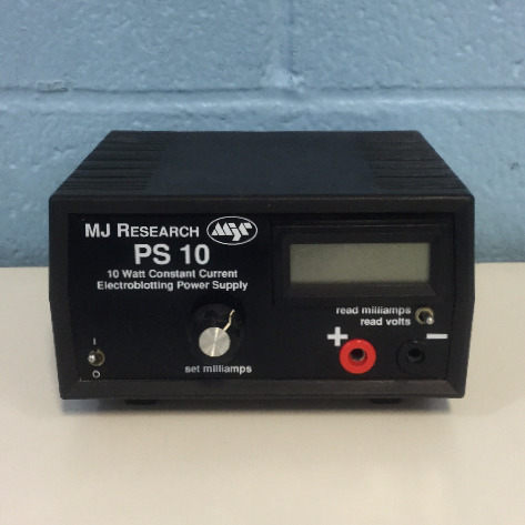 MJ Research PS10 10 Watt Constant Current Electroblotting Power Supply Image