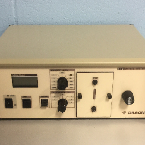 Gilson UV/VIS 112 Detector Image