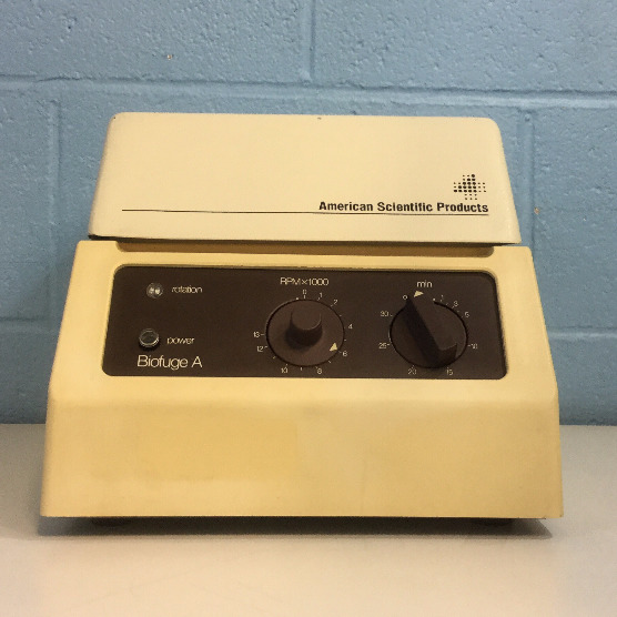 American Scientific Biofuge A Centrifuge Model 1217 with Rotor Image