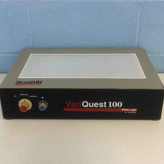 Variquest 100 White Light Transilluminator Name