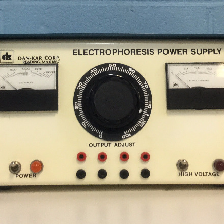 DK 2-2 Electrophoresis Power Supply  Name