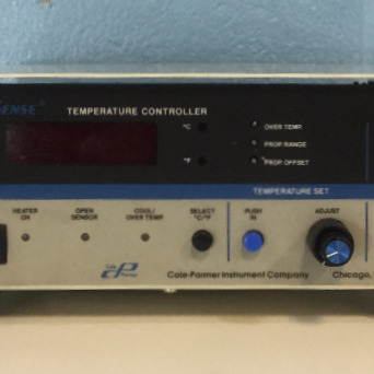 Digi-Sense Temperature Controller Model 2186-20A Name