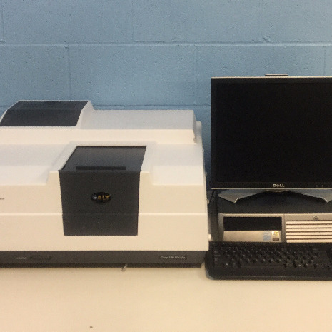 Cary 100 UV-Visible Spectrophotometer Model G9821A